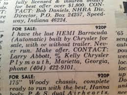 newspaper car ads bangshift com national dragster