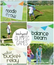 diy backyard olympic games u create olympics backyard and gaming
