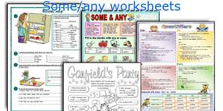 Countable And Uncountable Some Any Exercises Pdf Teaching Worksheets Some Any