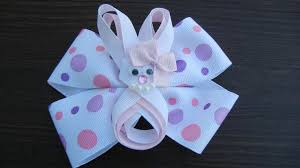 easter hair bows easter bow boutique