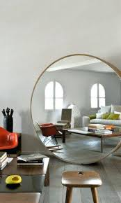 Circle Bathroom Mirror Large Round Copper Mirror Uk Large Circle Mirror Behind Couch