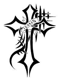cross clipart tattoo
