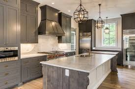 white kitchen cabinets with island gray shaker cabinets with white kitchen island