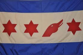 Chicagos Flag Goose Island Brewery Flag A Takeoff On The Chicago Flag Thanks