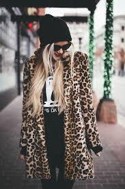 Leopard Print Faux Fur Throw Leopard Print Seeing Spots Leopard Jacket Winter Wardrobe And