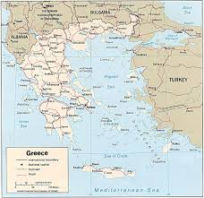 Delphi Greece Map by Travel Maps Of Greece Greek Travel Map Greece Maps By Travel 4