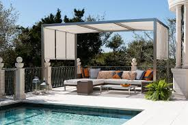 Motorized Pergola Cover by Pergola Roof Ideas What You Need To Know Shadefx Canopies