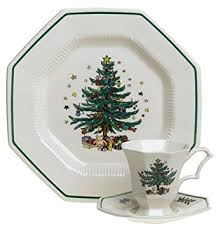 nikko ceramics christmastime 12 dinnerware set