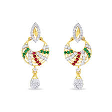 earrings images collection of gold earrings online pn gadgil jewellers