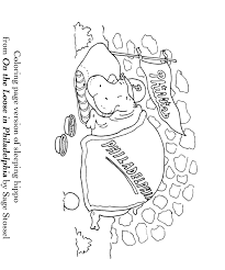 coloring book philadelphia sleeping hippo