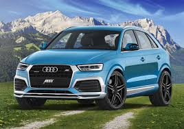 audi jeep q3 2015 audi q3 gets abt cosmetic tuning 210 hp upgrade for 2 0 tdi