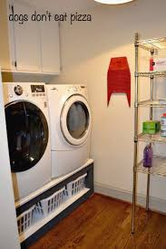 Pedestal For Washing Machine How To Build A Pedestal For Your Laundry Room The Diy Bungalow