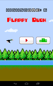 buy flappy duck template with documentation for android