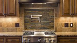 tile backsplash to give unique accent in your kitchen