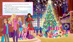 barbie perfect christmas book barbie justine fontes