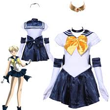 halloween sailor costume au size 6 12 fancy dress sailor moon costume venus uranus cosplay