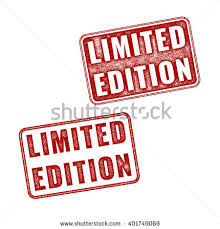 limited edition two vector limited edition stock vector 401749069