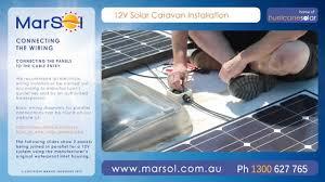 solar caravan installation video guide hd youtube