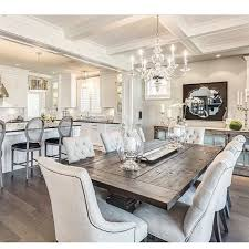 Beautiful Dining Room Sets Rustic Glam Has Stolen My Thanks To This Beautiful Design By
