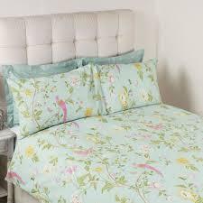 summer palace duck egg cotton bedset laura ashley