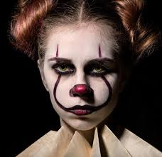 Devil Halloween Makeup Ideas by 100 Halloween Makeup Clown Double Face Clown Makeup