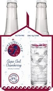 spikedseltzer cape cod cranberry beer 6 12 fl oz bottles