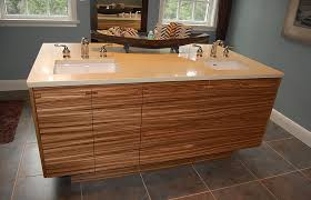 zebra wood bathroom cabinets custom bath cabinetry gallery arbour hill custom furniture and