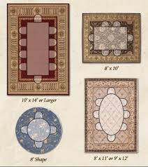 Large Rug Sizes Benedetina Dining Room Rug Placement