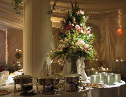 buffet table decor buffet table decor reception flower gallery