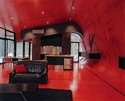 ultra modern black and red living room marvelous interiors