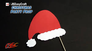 diy easy christmas cap party prop photo booth props how to make
