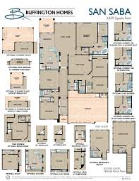 Floor Plans Of Homes San Saba By Home Builder In Austin Tx Buffington Homes
