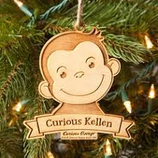 curious george gabric quilted ornament by wreathsbykari on
