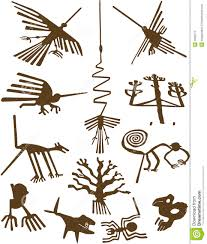 de lijnen van nazca stock fotografie afbeelding 3068712