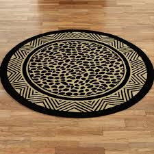 Leopard Bathroom Rug by Wild Leopard Print Hooked Area Rugs