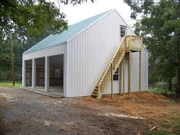 Garage With Living Space Above by Steel Building With Loft This Is A 3 Car 30x36 Garage With An