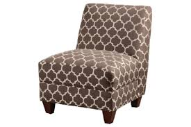 Armless Accent Chair 902528 Accent Seating Contemporary Armless Accent Chair