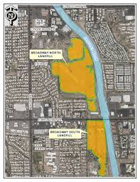 Map Of Tucson Environmental Services Es Projects Official Website Of The City