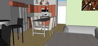 sxsw office layout sketchup model evstudio architect engineer kitchen