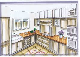dessiner en perspective une cuisine dessiner des meubles en perspective 7 cuisine style louisiane le