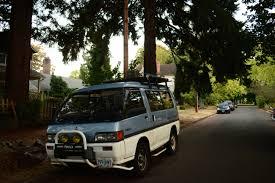 mitsubishi van 2016 old parked cars 1991 mitsubishi delica exceed star wagon
