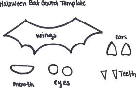 printable bat mask template for preschool baseball craft ideas