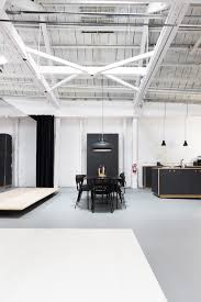 ikea kitchen hacks are stars of new brooklyn design showroom curbed via dezeen