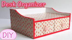 make desk organizer ana diy crafts youtube tierra este 30813