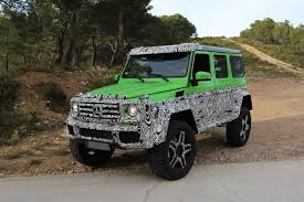 mercedes 6x6 truck mercedes is planning the g63 amg 4x4 truck