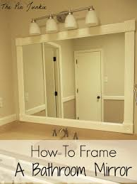 Bathroom Framed Mirrors by Home Decor Framed Mirrors For Bathrooms Copper Pendant Light