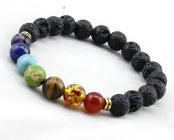 balance bracelet images Baltic essentials chakra lava rock balance bracelet yoga teen rainbow jpg