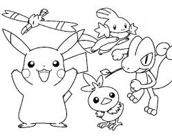 printable pokemon coloring pages pikachu 3315 coloring sheet