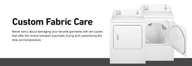 shop roper 6 5 cu ft electric dryer white at lowes com