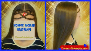 find a hairstyle using your own picture wonder woman hairstyle diy headband headpiece using your own